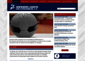 handballkreis-koeln-rheinberg.de
