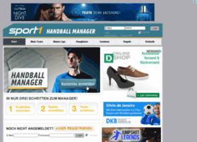 handballmanager.sport1.de