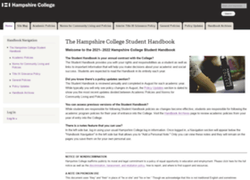 handbook.hampshire.edu