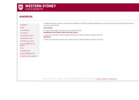 handbook.uws.edu.au
