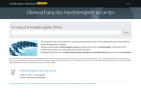 handelsregisterauszug-kostenlos.de