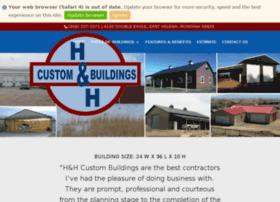 handhcustombuildings.com