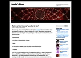 handleshaus.wordpress.com