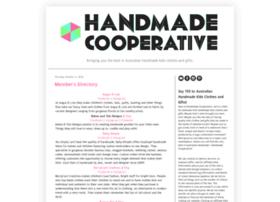 handmadecooperative.blogspot.com