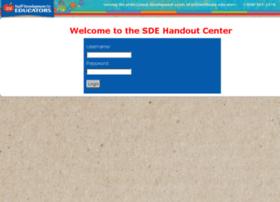 handouts.sde.com