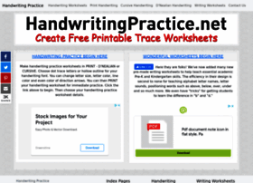 handwritingpractice.net