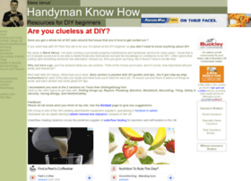 handymanknowhow.co.uk