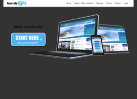 handzonwebsitebuilder.com