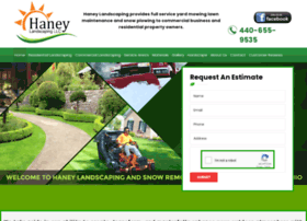 haneylandscapingservices.com