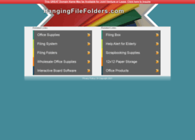 hangingfilefolders.com