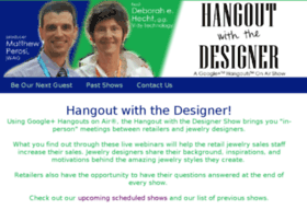 hangoutwiththedesigner.com