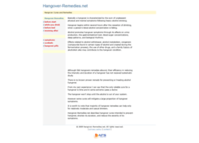 hangover-remedies.net