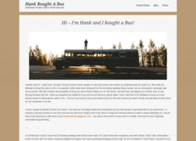 hankboughtabus.com