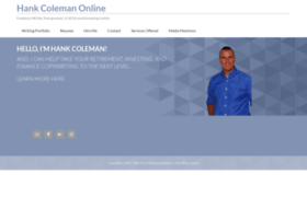 hankcoleman.com
