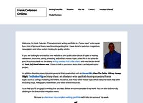 Hankcoleman.net