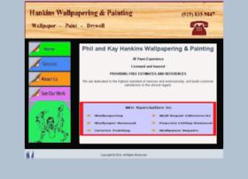 hankinswallpapering.com