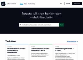 hankintailmoitukset.fi
