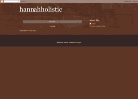 hannahholistic.blogspot.com