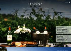 hannawinery.com