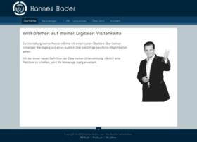 hannes-bader.com