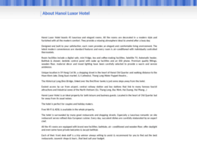 hanoiluxorhotel.com