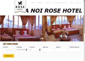 hanoirosehotel.net