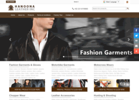 hanoonaleather.com