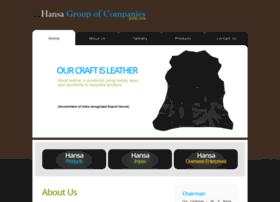 hansaleathers.com