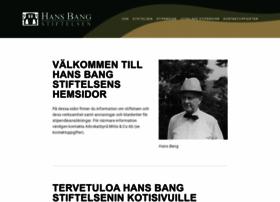 hansbangstiftelsen.fi