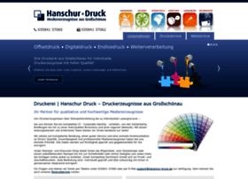 hanschur-druck.de