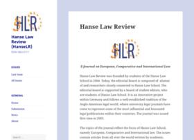 hanselawreview.org