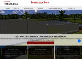 hansenbrosfence.com