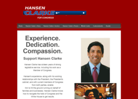 hansenclarkeforcongress.com