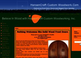 hansencraftcustomwoodwork.com
