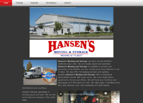 hansensmoving.com