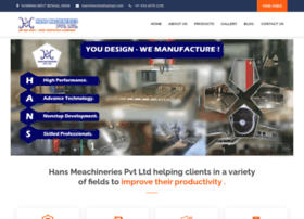 hansmachineries.com