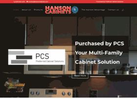 hansoncabinets.com