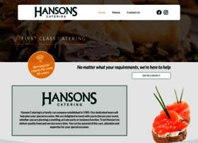 hansoncatering.co.uk