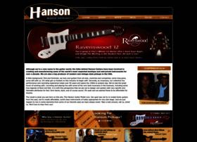 hansonguitars.com
