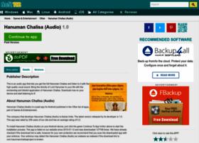 hanuman-chalisa-audio.soft112.com