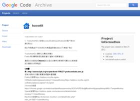 haoutil.googlecode.com