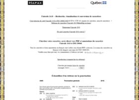 hapax.qc.ca