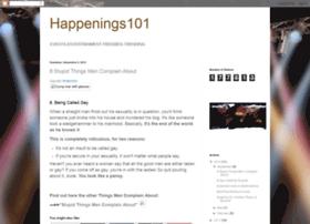 happenings-101.blogspot.in