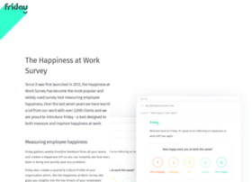 happinessatworksurvey.com