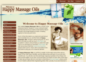 happy-massage-oils.com