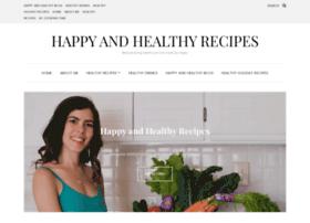 happyandhealthyrecipes.com