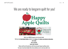 happyapplequilts.com