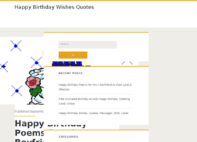 happybirthdaywishesquotes.com