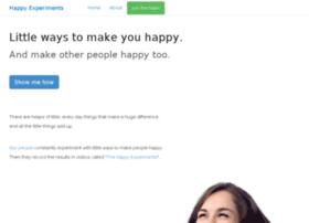 happyexperiments.com