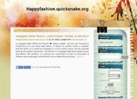 happyfashion.quicksnake.org